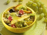 Fruity Rice Salad recipe