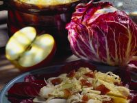 Fruity Sauerkraut Slaw with Radicchio recipe