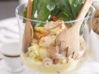 Fruity Shrimp Egg Salad recipe