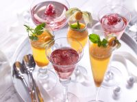 Fruity Sparkling Wine Cocktails recipe