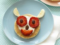 Funny Fruit Pancakes recipe