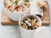 Fusilli and Cheese Bowls recipe