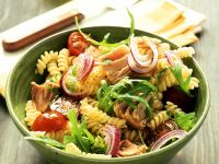 Fusilli and Flaked Fish Pasta Bowl recipe