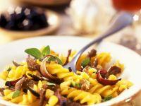 Fusilli with Lamb and Corn recipe