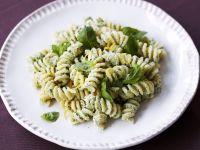 Fusilli with Ricotta and Basil Pesto recipe