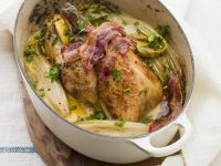 Game Bird with Endive recipe