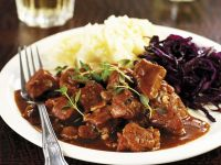 Game Meat Stew with Mash recipe