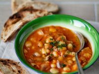 Garbanzo and Cannellini Broth recipe
