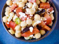 Garbanzo and Olive Bowl recipe