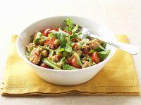 Garbanzo Bean and Flaked Fish Salad recipe