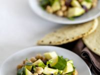 Garbanzo Bean and Zucchini Salad recipe