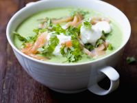 Garden Pea Bisque recipe