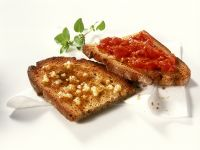 Garlic and Tomato Bruschetta recipe