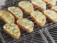 Garlic Bread on the Grill recipe
