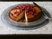 Gateau Topped with Fruit recipe