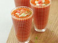 Gazpacho Soup with Watermelon recipe