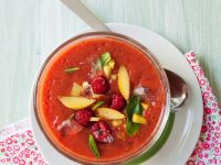 Gazpacho with Berries and Nectarines recipe