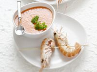 Gazpacho with King Prawns recipe