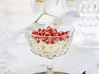 Gelatine Pudding with Jewelled Topping recipe