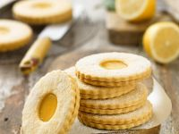GF Lemon Shortbread Biscuits recipe