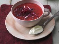 Ginger and Beet Soup recipe