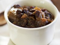 Ginger and Rhubarb Chutney with Raisins recipe