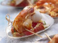 Ginger and Tomato Prawns recipe