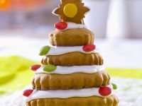 Ginger Cookie Christmas Trees recipe