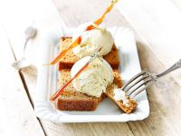 Ginger Loaf with Ice-cream recipe