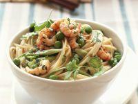 Ginger Shrimp and Pasta Bowl recipe