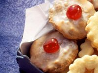 Gingerbread Cookies with Candied Fruit recipe
