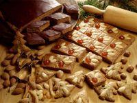 Gingerbread Diamond Cakes with Chocolate recipe