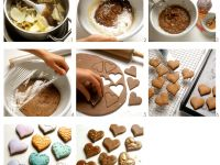 Gingerbread Hearts recipe