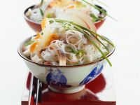 Glass Noodle Salad with Herring recipe