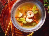 Glass Noodle Soup with Shrimp recipe