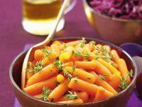 Glazed Baby Carrots recipe