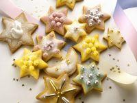 Glazed Christmas Cookies