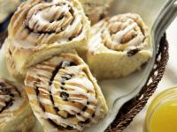 Glazed Cinnamon Buns recipe