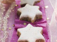 Glazed Cinnamon Star Cookies recipe