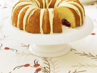 Glazed Cranberry Bundt Cake recipe