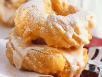 Glazed Cruller Donuts recipe