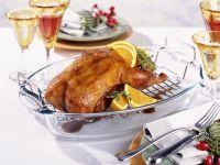 Glazed Orange Duck with Herbs recipe
