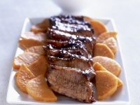 Glazed Pork Tenderloin with Sweet Potatoes