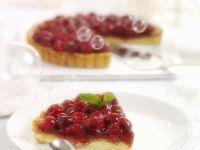 Glazed Tarte Aux Framboises recipe