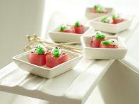 Glazed Tuna Cubes recipe