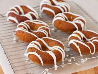 Glazed Vegan, Gluten-free Lemon and Basil Doughnuts recipe