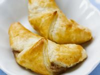 Glazed Walnut Crescents recipe