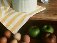 Gluten Free Apple and Cider Souffles recipe