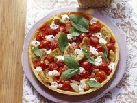 Gluten Free Artichoke and Mozzarella Tart recipe