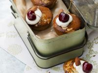 Gluten Free Cherry and Almond Bakewell Tarts recipe